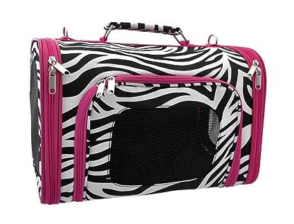 Zebra Pet Carrier Pet Dog Cat Carrier Zebra Hot