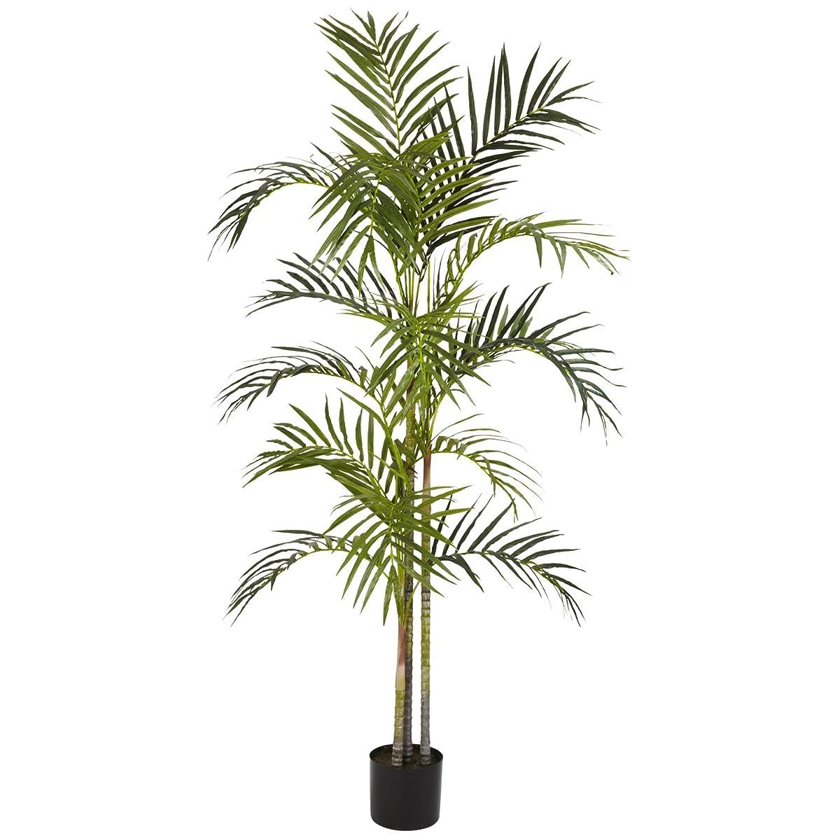 Nearly Natural 5315 Areca Palm Silk Tree, 5-Feet, Green