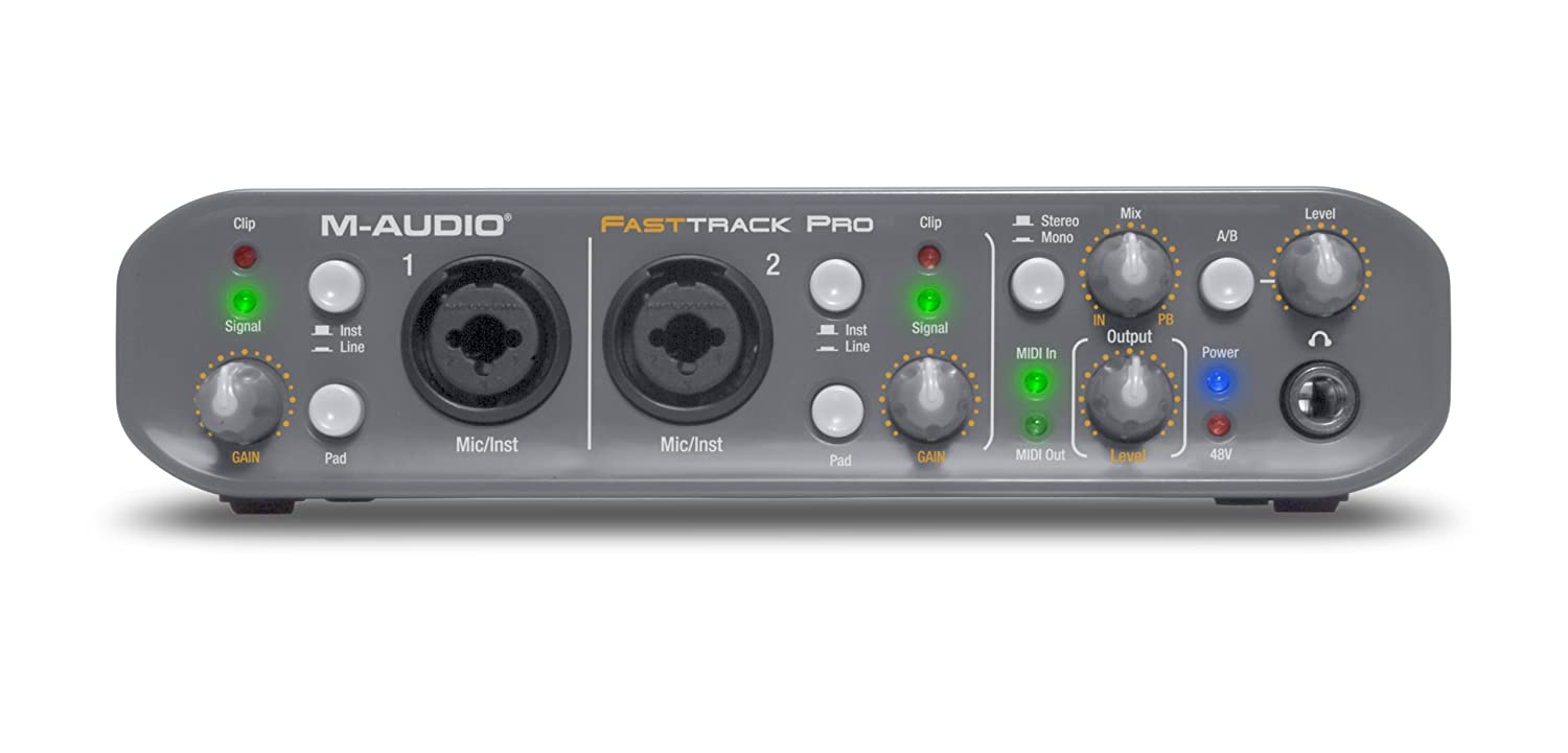 m audio drivers fast track ultra