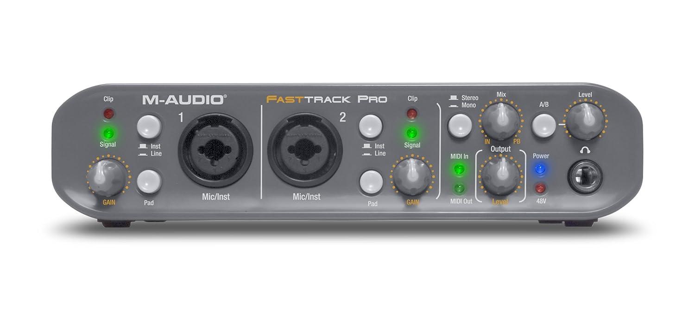 M audio fast track pro драйвера скачать