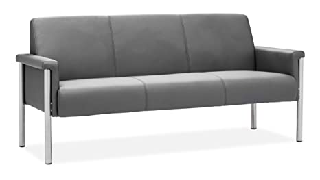 ZUO MODERN Baton Sofa, Gray