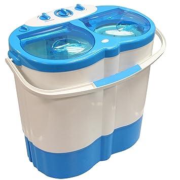 Double pot portable machine à laver Spin Sèche-cheveux Camping Caravane étudiant