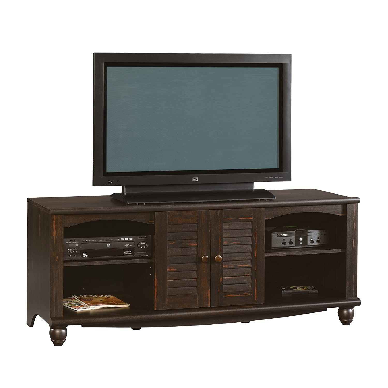 Sauder Tv Stand Credenza Entertainment Center Antique