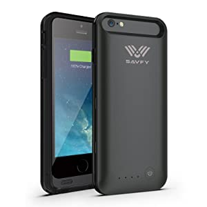 iPhone 6 4.7  Battery Case [Apple MFi Certified] SAVFY 3100mAh Premium External Backup Power Battery Charger Case Cover for iPhone 6 (Black)reviews and more news
