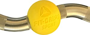 Cannon Curl + Fit Grips Sport - Arm Blaster Plus Sphere Thick Fat Bar Grips
