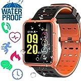 IP68 Waterproof Sport Fitness Tracker – Smart Watch for Men Women with Heart Rate Blood Pressure Sleep Monitor Calorie Pedometer Smart Bracelet Outdoor Swim Run Tracker Sport Outdoor Wristband (Color: 3 - Fitness Tracker)