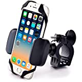 Metal Bike & Motorcycle Mount - for Any Smartphone (iPhone Xr & Xs Max, Galaxy S10, Other Cell Phones) | Unbreakable Handlebar Holder for ATV, Bicycle or Motorbike. +100 to Safeness & Comfort (Color: Heavy-Duty Metal Mount)