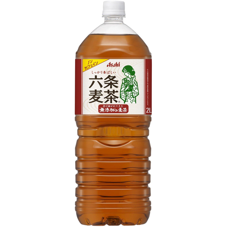 [2CS] アサヒ 六条麦茶 (2L×6本)×2箱
