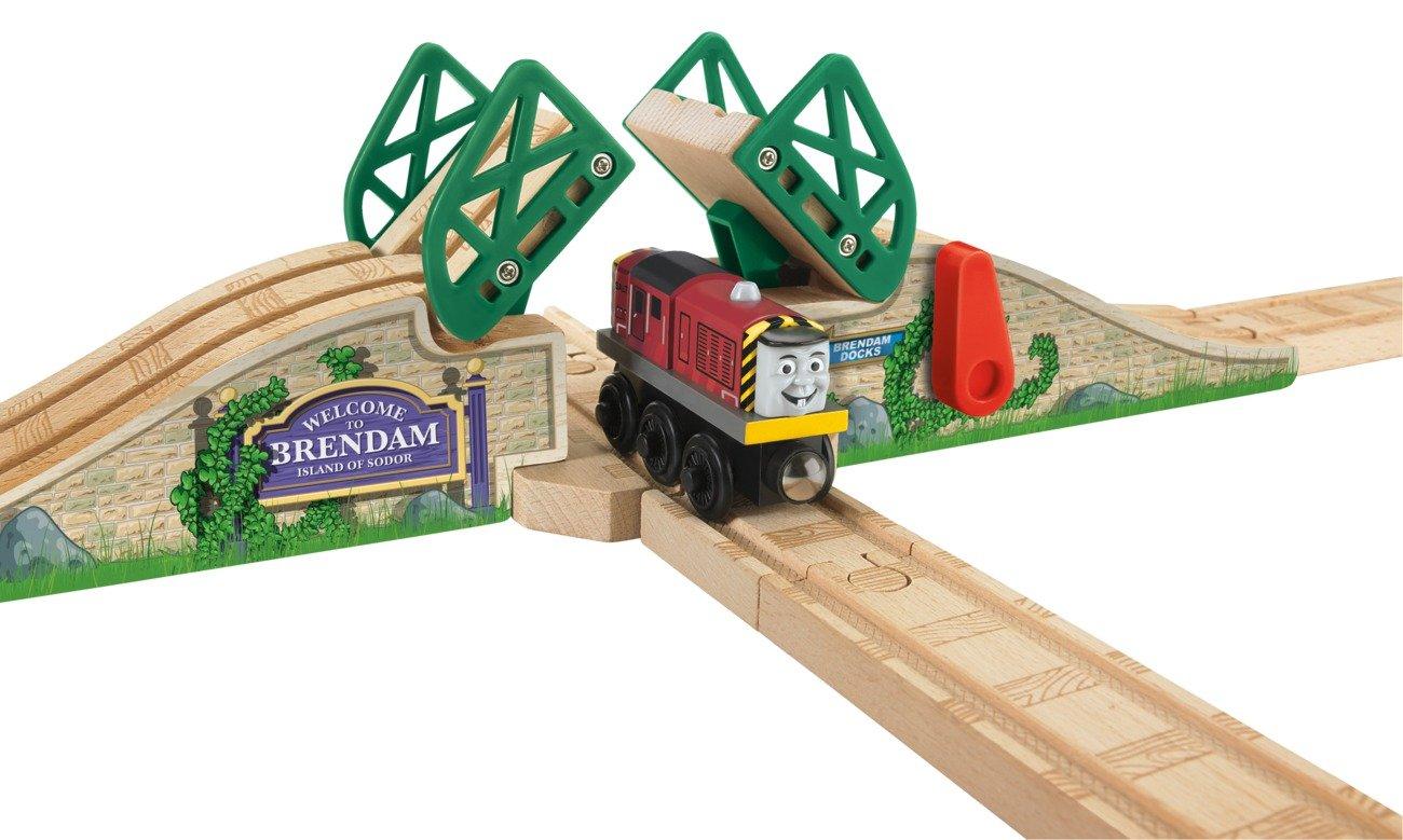 thomas wooden railway stone drawbridge new free shipping ebay. Black Bedroom Furniture Sets. Home Design Ideas