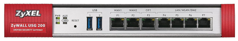 Firewall hardware ZYXEL ZYWALL USG200 GRIS