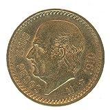1910 MX Mexican Gold Coin 10 Pesos BU