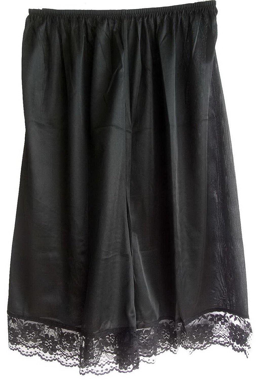 Damen Nylon Halb Slips Neu UPPNBK BLACK Half Slips Women Pettipants Lace günstig online kaufen