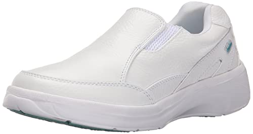 Cherokee Women's Mambo Work Shoe, White, 9 M US