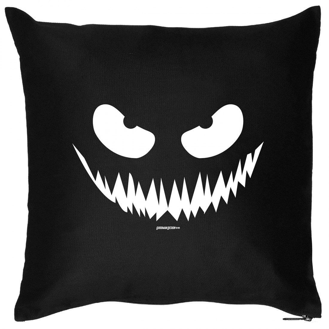 Kissen Sofakissen mit Aufdruck – grusel Gesicht – Horror Zombie Monster Halloween Geschenk – Wendekissen online kaufen
