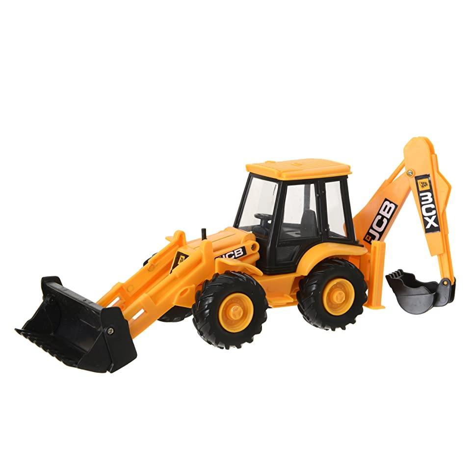 JCB 1 32 Scale Construction Series Manual Operated Fast Vehicles Backhoe Loader