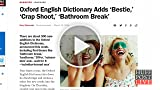 Oxford English Dictionary Adds Words 'Selfie,' 'Bathroom...
