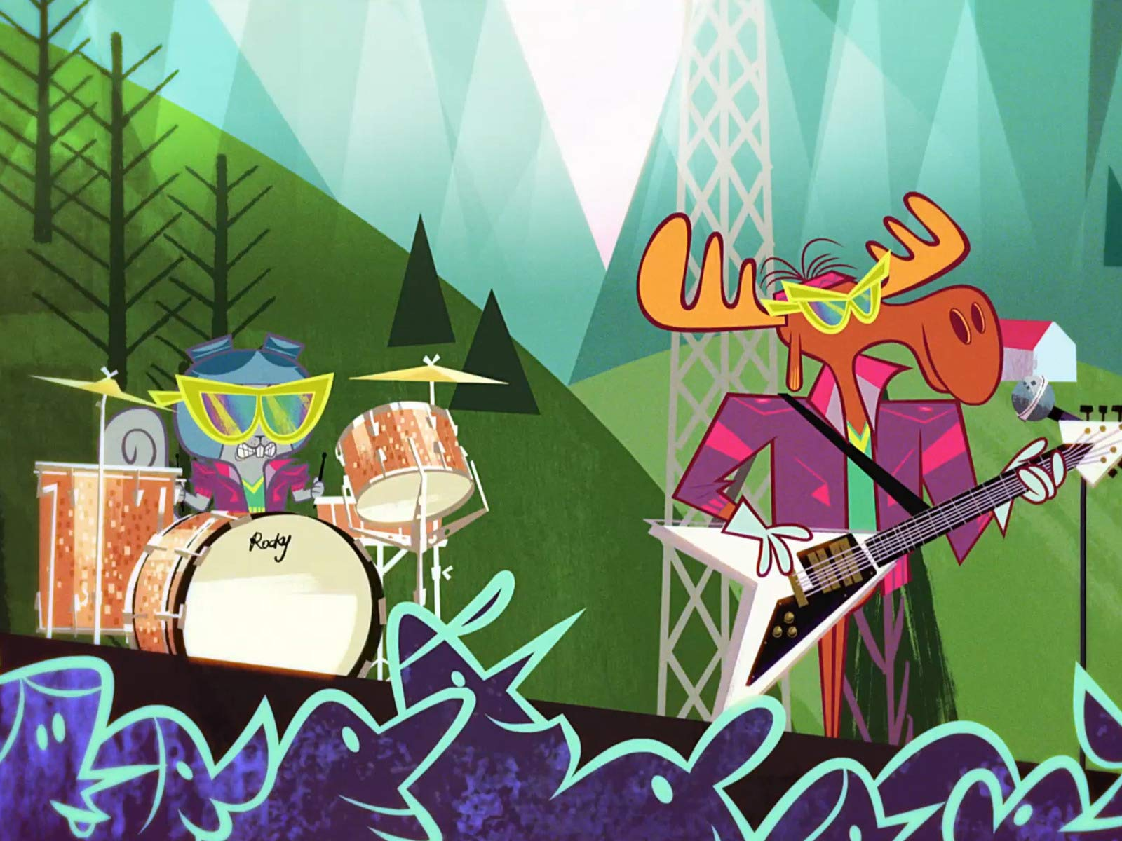 The Adventures of Rocky and Bullwinkle on Amazon Prime Video UK