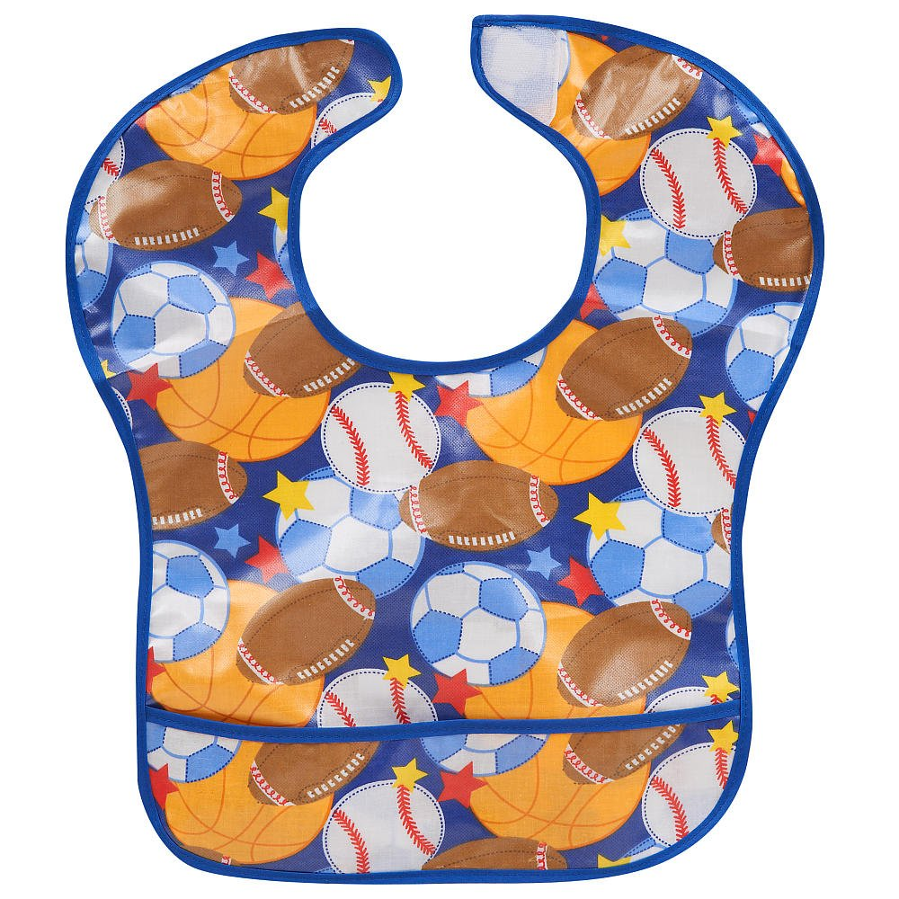 Babies R Us EZ-Wipe Bib - Sports babies