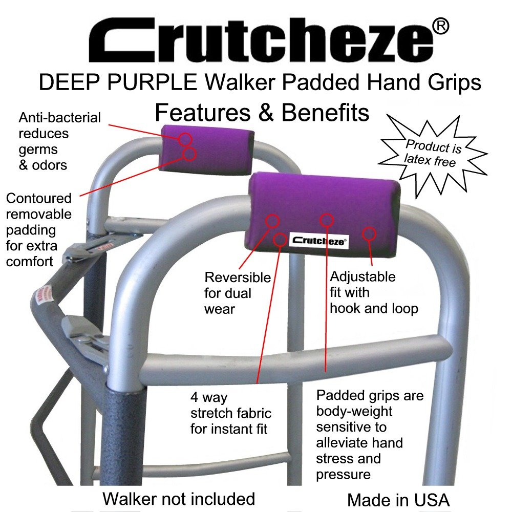 Товар для инвалидов Crutcheze Deep Purple