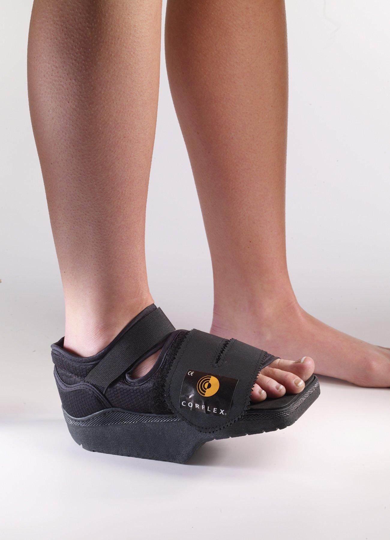 Darco Medium Orthowedge Black Shoe