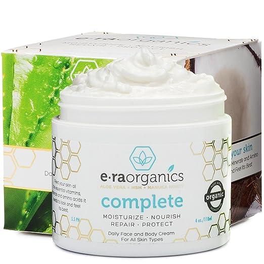 Era Organics Natural Face Moisturizer Cream