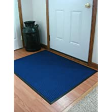 Durable Coporation Polyester Stop-N-Dry Abrasion Resistant Mat, for Indoors and Vestibules, Blue