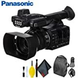 Panasonic AG-AC30 Full HD Camcorder with Touch Panel LCD Screen & Built-in LED Light - Standard Bundle (Color: Standard Bundle)
