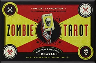 The Zombie Tarot: An Oracle of the Undead with Deck and Instructions written by Paul Kepple