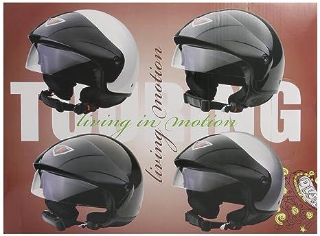 Bottari Moto 64257 Casque Touring, Gris, Taille : M