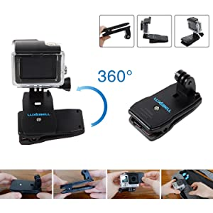 3 2 1 Handle Mount Accessories for AKASO EK7000 V50 Pro Brave 4 Dragon Crosstour Campark DJI OSMO Action Camera Pole Mount for Gopro Hero 7 6 5 Session 4 3 Luxebell Waterproof Floating Hand Grip