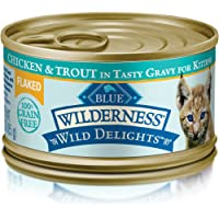 24-Pack Blue Buffalo Chicken & Trout Canned Kitten Food (3 ounce)