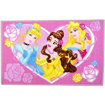 3 Tapis Disney Princesse Chambre Chambre Enfant Jeux Sortie De Lit Cendrillon 50x80cm