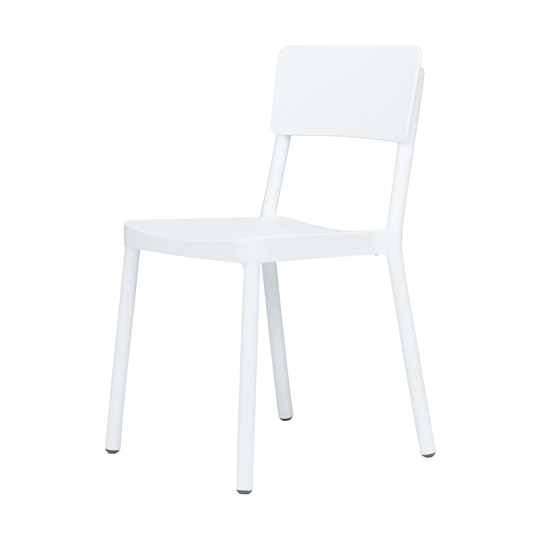Lisboa Stapelstuhl weiß jetzt kaufen