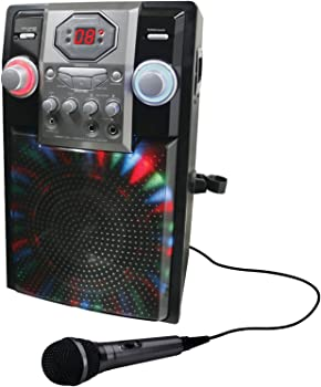 GPX Bluetooth Karaoke Machine Party System + $15 Kohls Cash