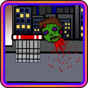 SHOOT THE ZOMBIE HEAD (a basketball net shot game) by 蔡远玉
