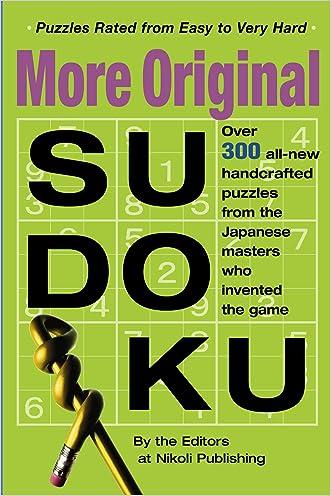 More Original Sudoku (Bk. 3)