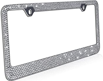 Heavy Duty Metal License Plate Frames