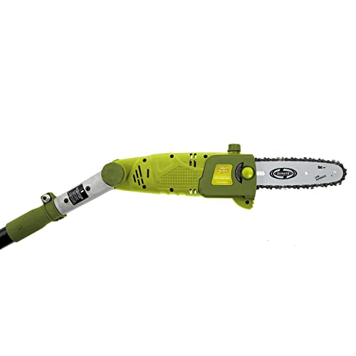 Sun Joe SWJ802E 9 FT 6.5 Amp Electric Pole Chain Saw with Adjustable Head via Amazon