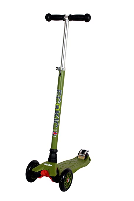 Ecokic Maxi Kids Scooter, Green available at Amazon for Rs.5999