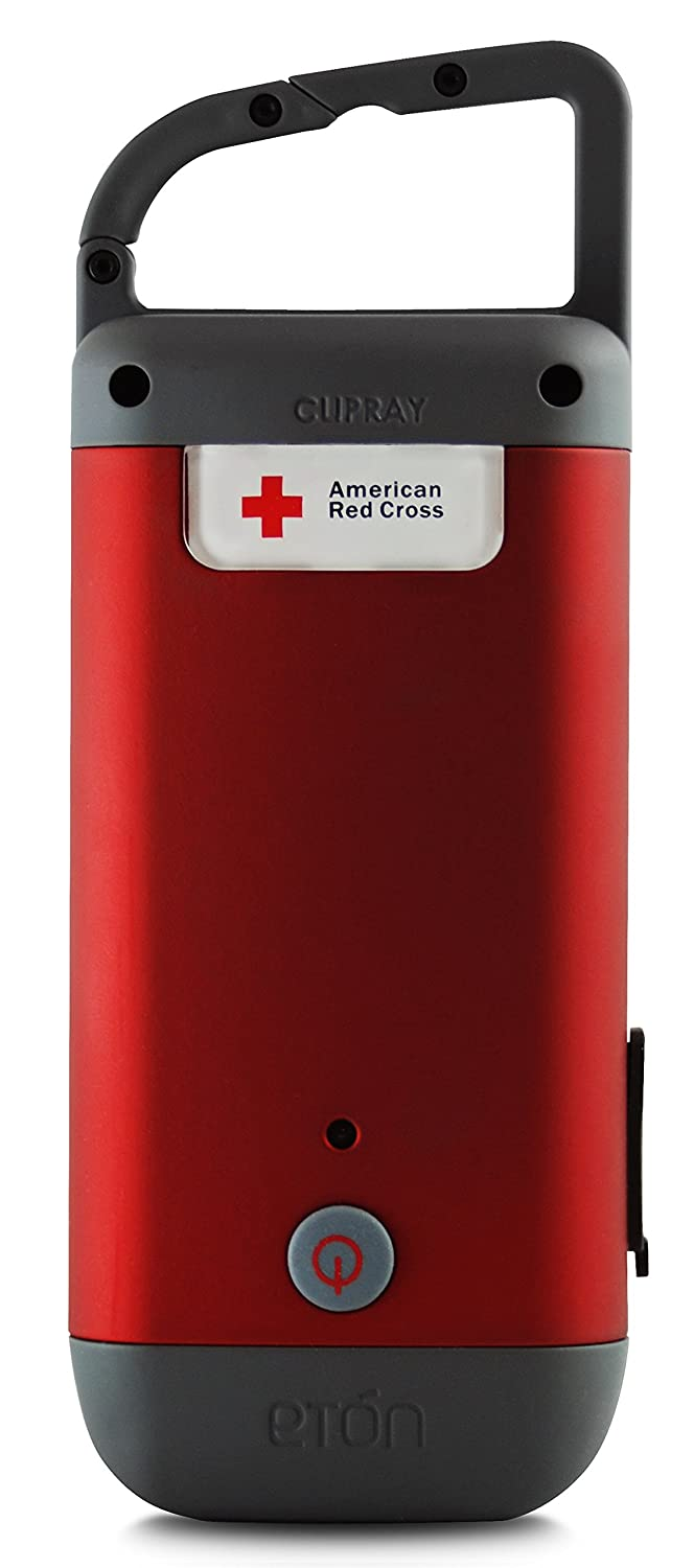 us eton red cross clipray clip on flashlight and. Black Bedroom Furniture Sets. Home Design Ideas