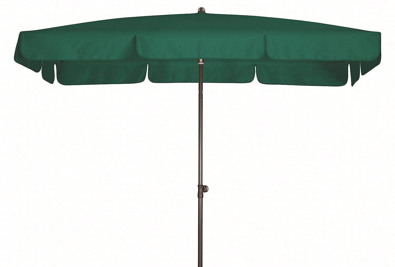 Absolut wasserdichter Gartenschirm Waterproof 260×150 von Doppler mit UV-Schutz 80, Farbe dunkelgrün günstig bestellen