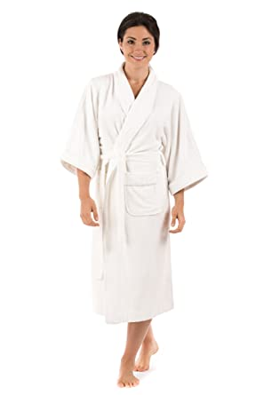 Women's Terry Cloth Bathrobe Robe (Ecovaganza); An Eco Friendly Gift