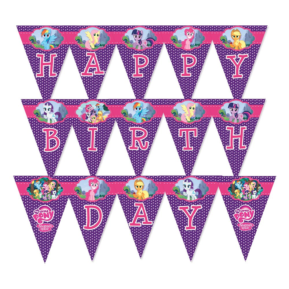 My Little Pony Wall Decorations and Banners Birthday