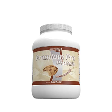 Best Body Nutrition Premium Pro Protein Cookies, 750 g Dose, 1er Pack (1 x 750 g)