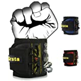 Grsta Magnetic Wristbands, With 5 Powerful Magnets magnet wristbands for Holding Tools,Screws,Nails,Bolts, Drill Bits and Small tools, nails and screws pouch (Black) (Color: Black, Tamaño: 1 pack)