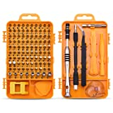 Screwdriver Set Repair Tool Kit - 108 in 1 Small Multi Screw Driver Bits Set Magnetic Mini Precision Screwdriver for Iphone,Watch,Electric,Eyeglass,La