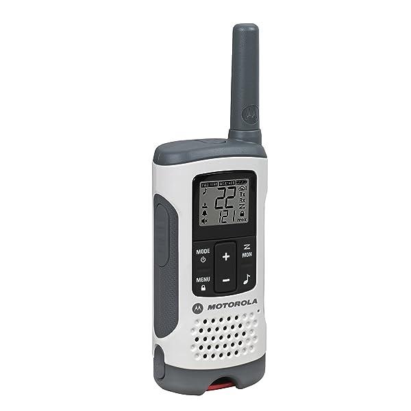 PAQUETE DE RADIO BIDIRECCIONAL RECARGABLE MOTOROLA TALKABOUT T280? BLANCO
