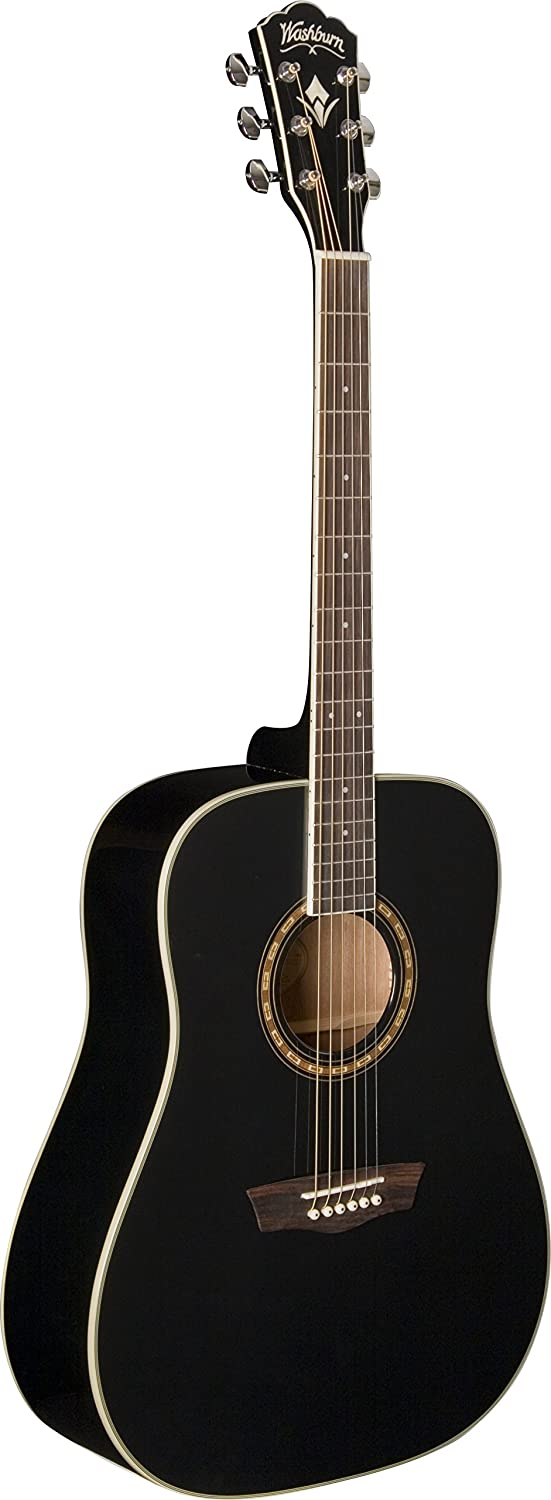 Washburn WD10 Dreadnought Acoustic Guitar, Natural available at Amazon for Rs.39499