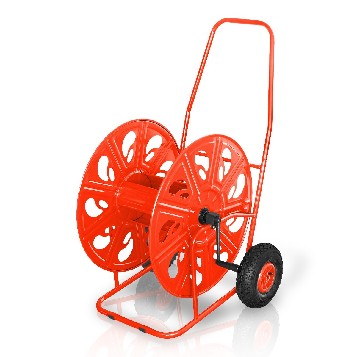 Profi Schlauchwagen für max. 100m 1 oder 140m 3/4 mit Luftbereifung, Schlauchtrommel  BaumarktRezension