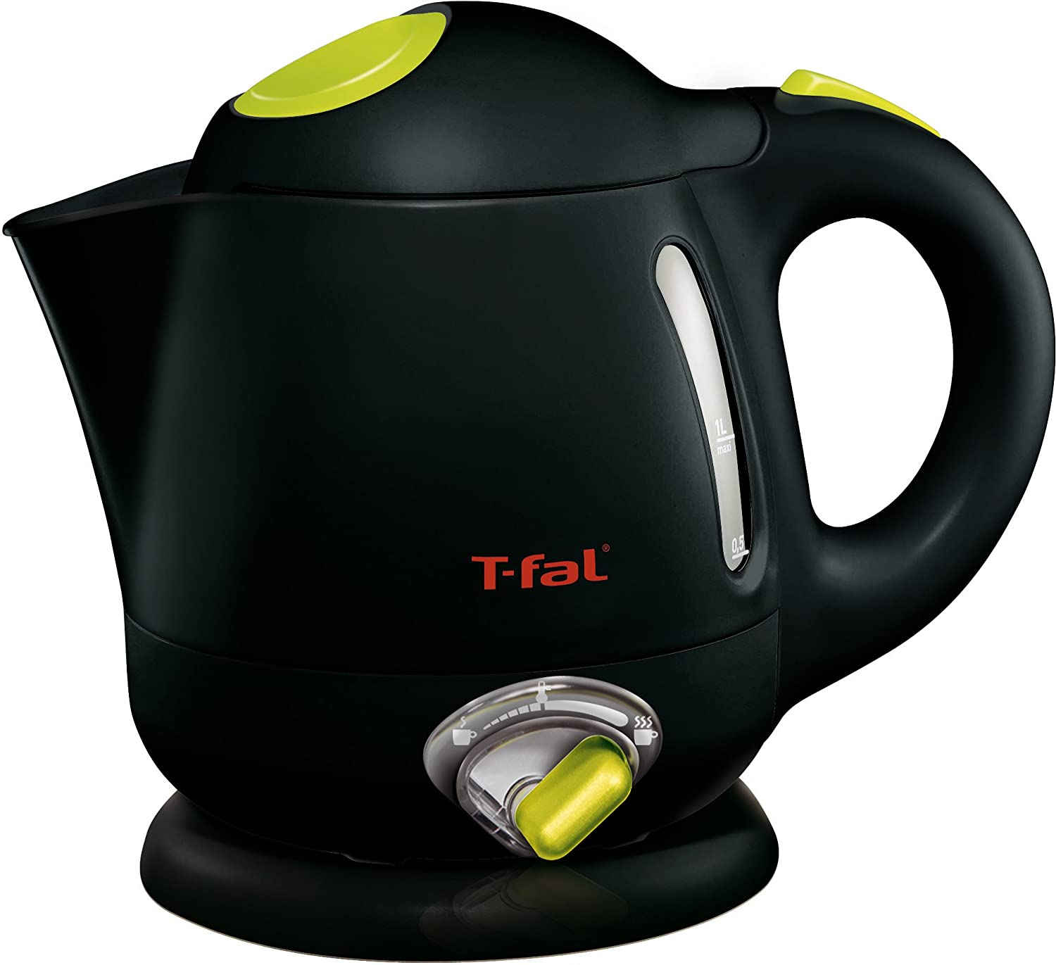 T-fal BF6138US 1-Liter Electric Mini Kettle with Variable Temperature